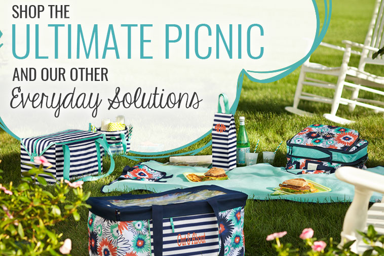 Shop the Ultimate Home Picnic and our other Everyday Solutions
