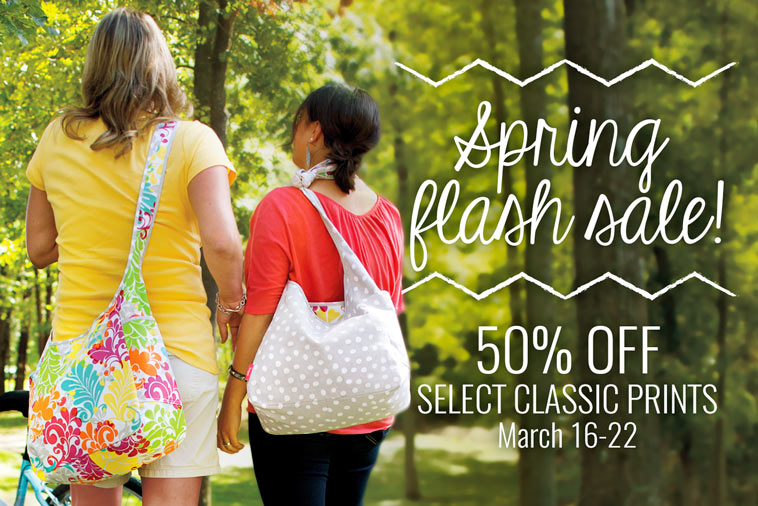 Spring flash sale: 50% off select classic prints - March 16-22